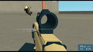 Roblox Phantom Forces - Scar-L and a Strange Intervention