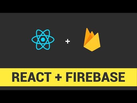 Coder une app' avec React.js et Firebase