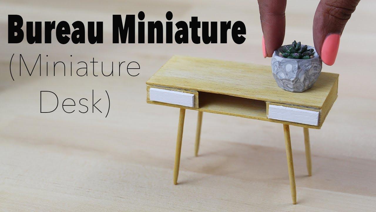 Bureau maison du monde miniature desk ⎪doll house youtube