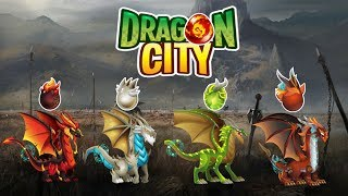 Dragon City - All Four Elements Dragon - Part 1/2