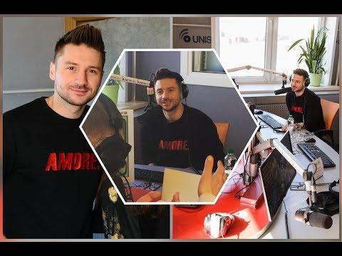 Сергей Лазарев. На радиостанции Юнистар 99.5 FM Минск 03.04.2018г