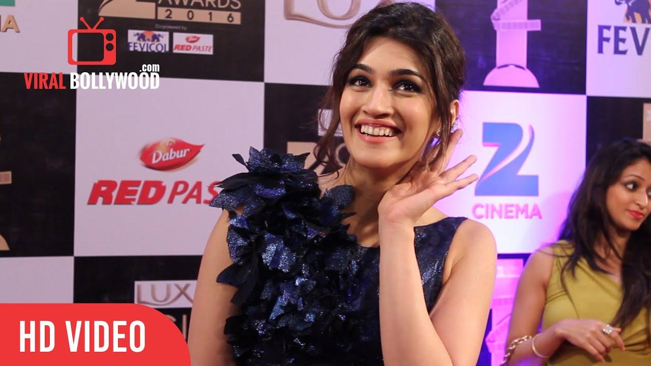 gorgeous kriti sanon at zee cine awards 2016 viralbollywood youtube