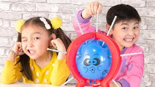 Boom Boom Balloon Board Game With Popping Balloons For Toddlers