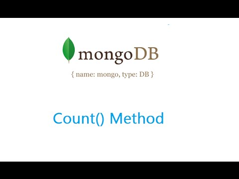 Count Method: MongoDB