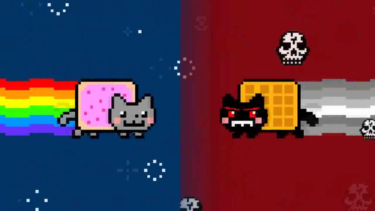 Nyan Cat Vs Cat Nyan