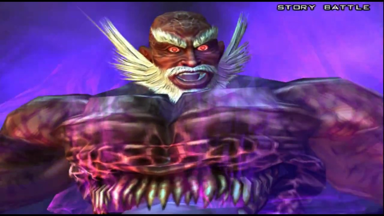 740 Tekken 5 Ps2 Bosses 1 2 Demon Jinpachi Playthrough Youtube
