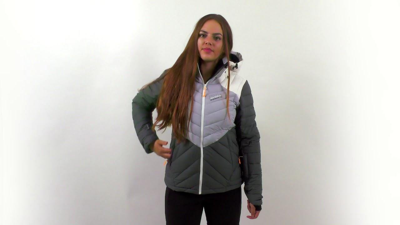 Icepeak Kendra Jacket Damen Skijacke grau pink 2-53 234 817 I 817