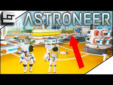 Organic Power Plant!  New Astroneer Building Update - Astron