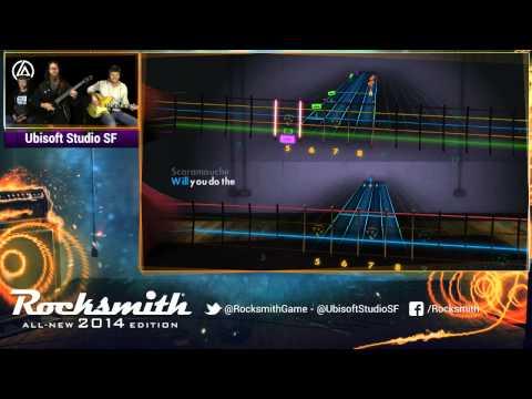 Rocksmith 2014 - Linkin Park DLC - Live from Ubisoft Studio SF