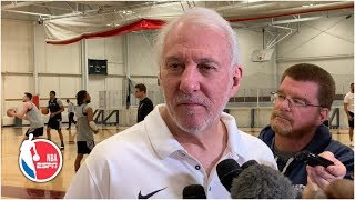 Gregg Popovich gives a very Pop-like interview | 2019 NBA Playoffs