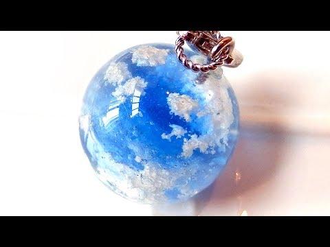 【UVレジン】100均材料と石けんで雲レジンを作りました! cloud resin made with soap DIY