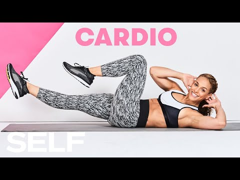 30-Minute Cardio Workout to Spike Your Heart Rate | SELF Challenge