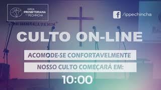 Culto Matutino - Rev. Fabio Castro - 18/04/2021