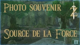 Astuce Zelda Breath of the Wild : Photo souvenir source de la force