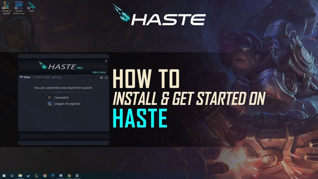 Haste Now Supports WoT, TF2, Star Wars and more! - Haste