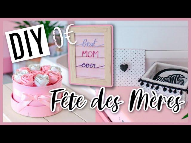 DIY FÊTE DES MÈRES 0€ / RECUP (Spéciale Confinement !)