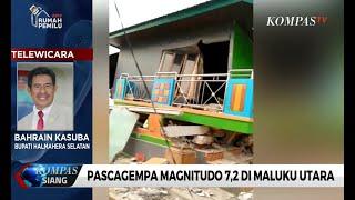 Download Video Sejumlah Rumah Warga Ambruk Akibat Gempa Magnitudo 7,2 di Maluku Utara MP3 3GP MP4