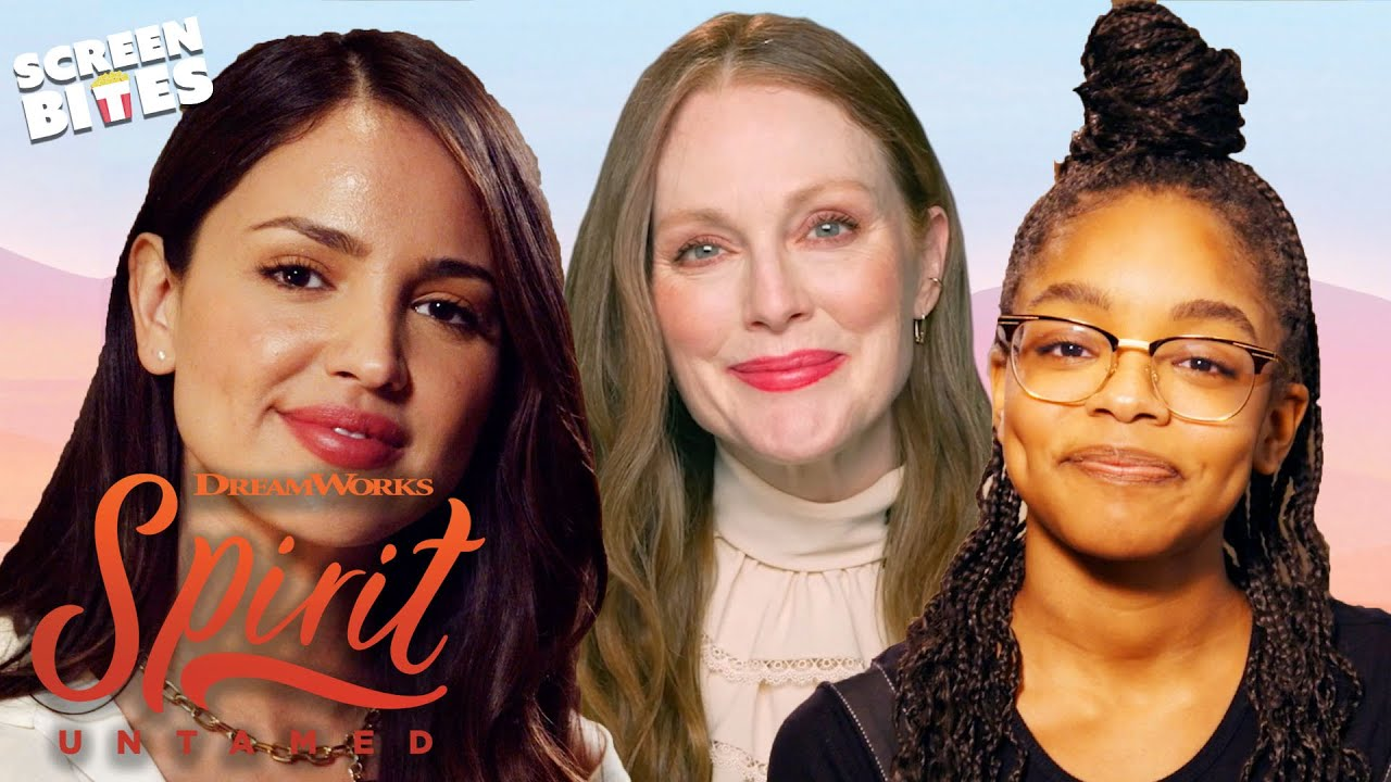 Spirit Untamed Cast on Female Friendships | Screen Bites
