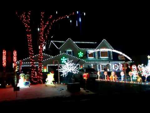 Long Island Christmas Lights 2021 Christmas Light Show In Long Island Youtube