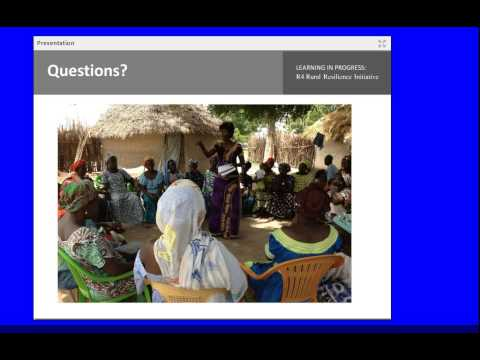 ACM Series: R4 Rural Resilience Initiative