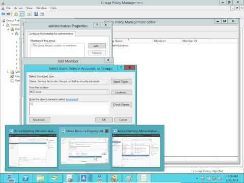 Windows Server 2012 Advance Active Directory