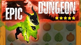 Battle Camp - Fire Epic Dungeon on Extreme with 25 Energy