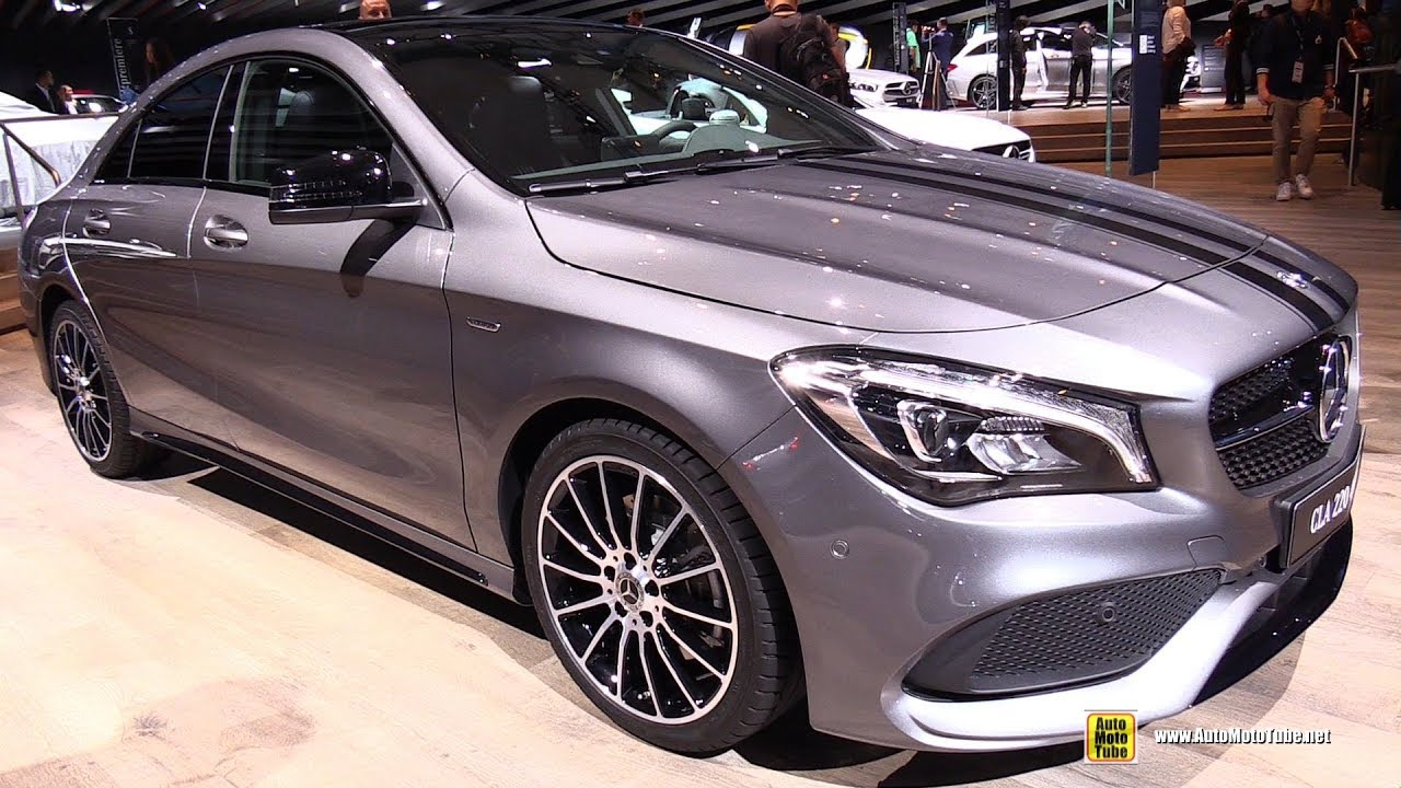 2018 mercedes cla 220 4matic coupe walkaround 2017 frankfurt auto show youtube. Black Bedroom Furniture Sets. Home Design Ideas