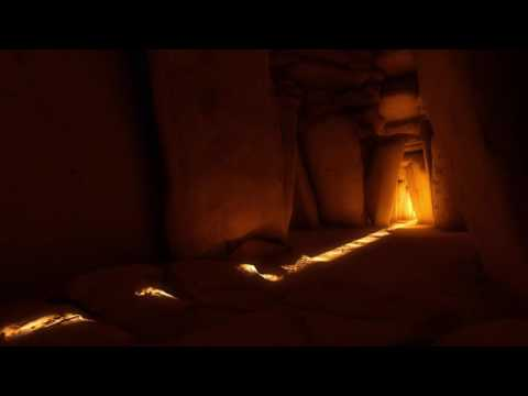 Newgrange winter solstice simulation 4k