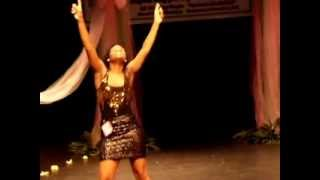 Little Tina Rolling Down The River In Cleveland Mississippi - Soulful Tina Turner Dance Contestant