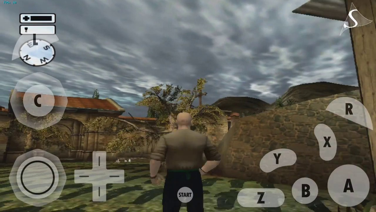 DOLPHIN EMULATOR ANDROID- HITMAN 2 SILENT ASSASSIN GAMECUBE TEST by aks  gaming world