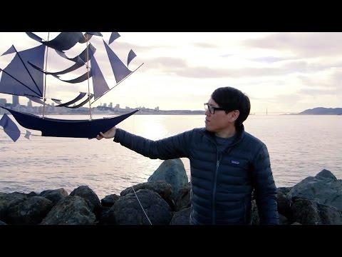 Show and Tell: Sailing Ship Kite!