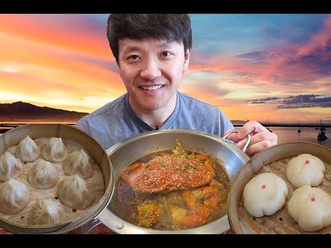 SIZZLING Hotpot, Soup Dumplings & SPICY Noodles: Bay Area Food Tour!