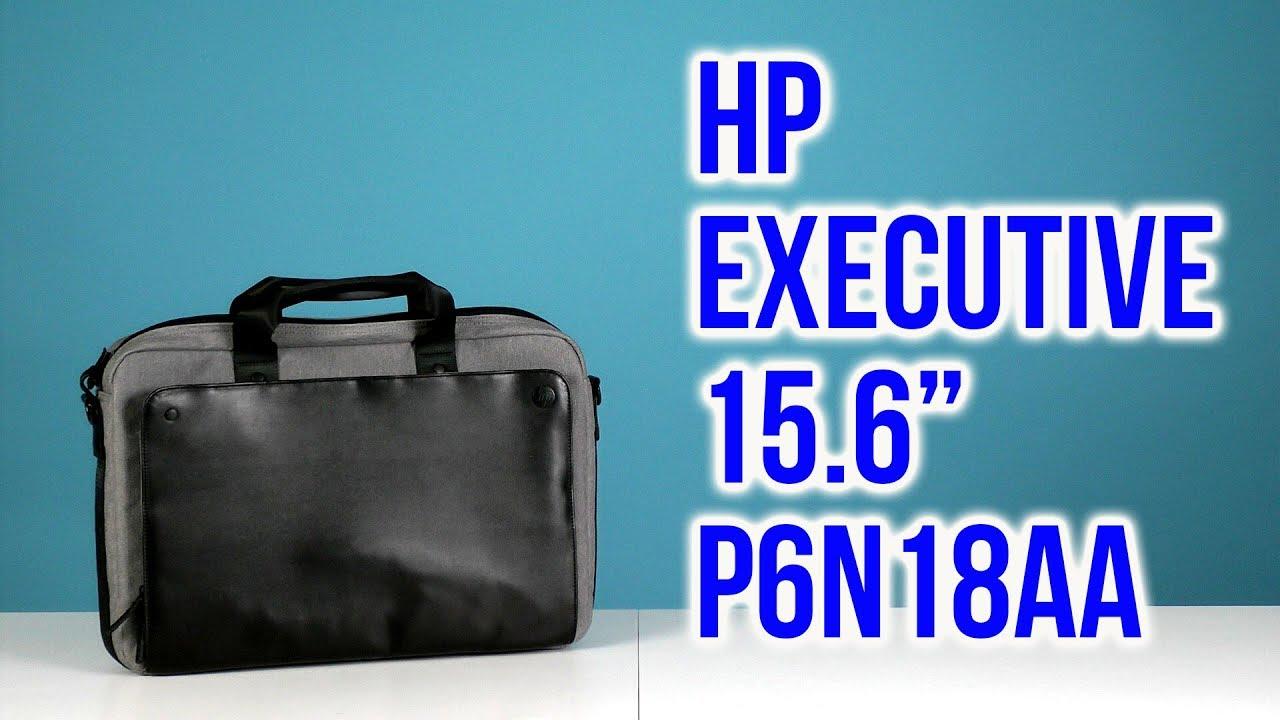 de19f1f442 Распаковка HP Executive 15.6 Black Grey P6N18AA - YouTube
