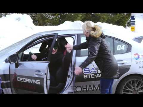 Yokohama & Ice Driving Canada - W.Drive V.905 tire trials