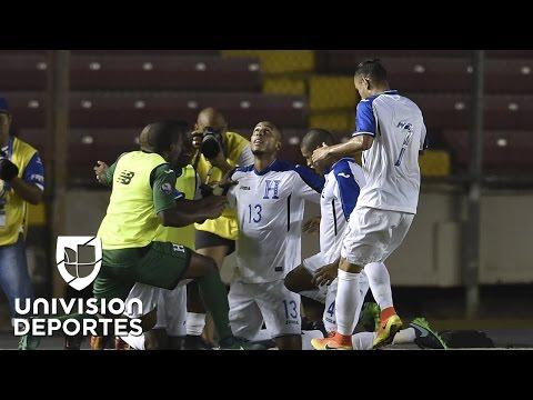 Honduras muy cerca de quedarse con la Copa Centroamericana 2017