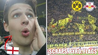 ENGLISH FAN EXPERIENCES BORUSSIA DORTMUND ATMOSPHERE vs RB Leipzig