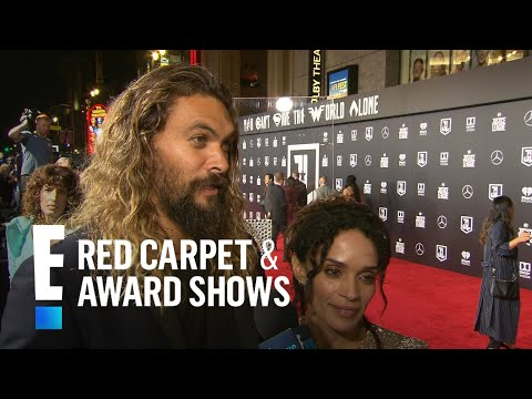 Jason Momoa & Lisa Bonet Talk Newlywed Life Logistics  E! Live from the Red Carpet