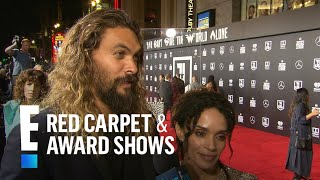 Jason Momoa & Lisa Bonet Talk Newlywed Life Logistics | E! Red Carpet & Award Shows