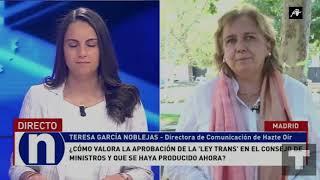 HazteOir.org habla sobre la Ley Trans en El Toro TV