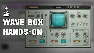 Wave Box - Hands-on by Multiplier - Dynamic Dual Waveshaper - AudioThing