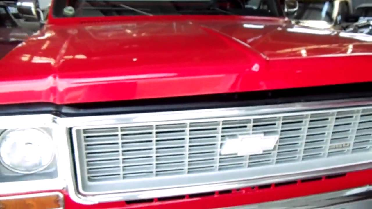 Pickup 74 chevy pickup : 1974 Chevy 4x4 Shortbed Pick-up Fully Restored 350 Auto - Air Cond ...