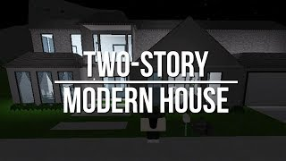 ROBLOX | Welcome to Bloxburg: Two Story Modern House 68k