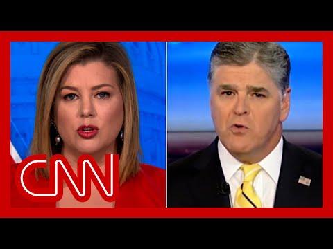 Brianna Keilar slams Sean Hannity after his QAnon comments