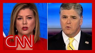 Brianna Keilar slams Sean Hannity after his QAnon comments