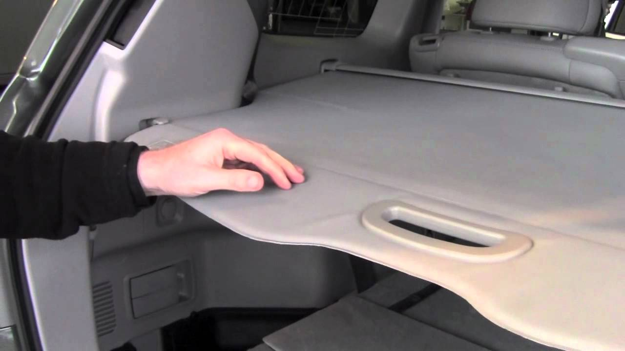 2012 Toyota Highlander Tonneau Cover How To By