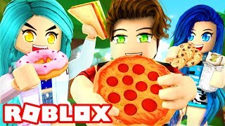 THIS GAME IS DELICIOUS!! ROBLOX EATING SIMULATOR!