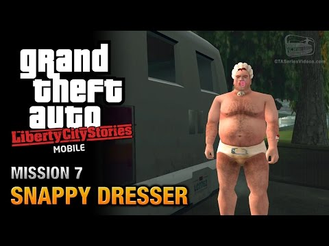 GTA Liberty City Stories Mobile - Mission #7 - Snappy Dresser