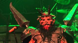 GWAR Sick Of You Live In San Diego 4 3 12
