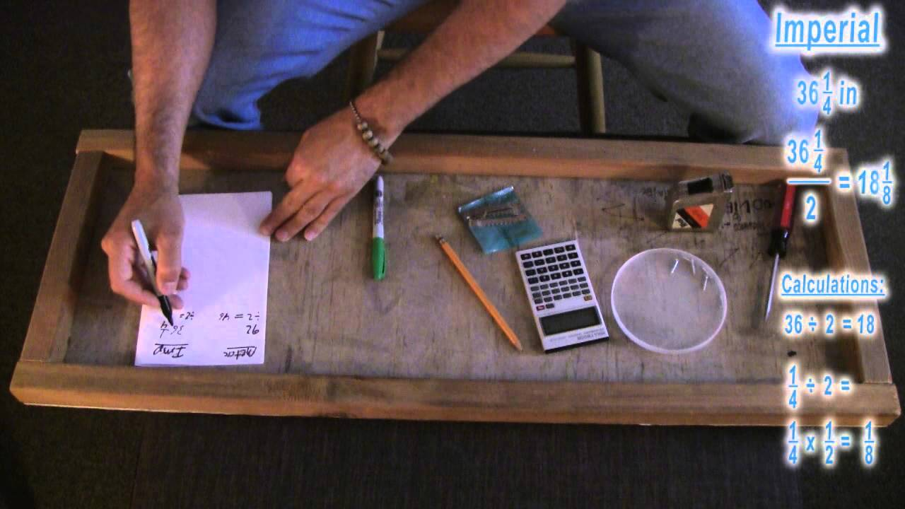 ASMR Math: Measurements, Imperial and Metric: How to Attach Sawtooth ...