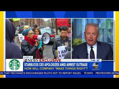Starbucks CEO speaks to GMA after Philadelphia arrests